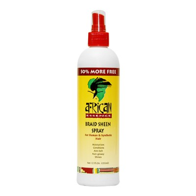 African Essence Braid Sheen Spray (12 oz)