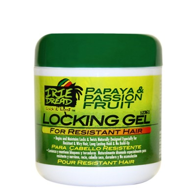 IRIE DREAD Locking Gel for Resistant Hair (6 oz)