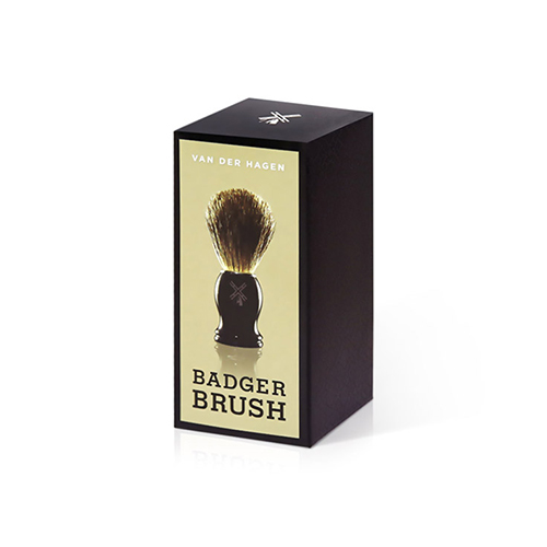 VAN DER HAGEN Deluxe Badger Brush