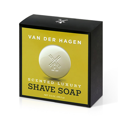 VAN DER HAGEN Scented Luxury Shave Soap