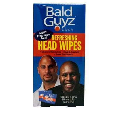 BALD GUYZ HEAD WIPES