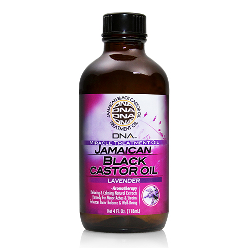 My DNA Jamaican Black Castor Oil - Lavender 4oz