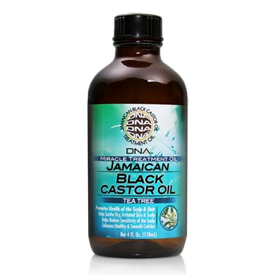 My DNA Jamaican Black Castor Oil Tea Tree 4oz