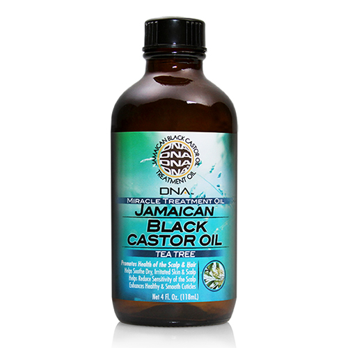 My DNA Jamaican Black Castor Oil - Tea Tree 4oz