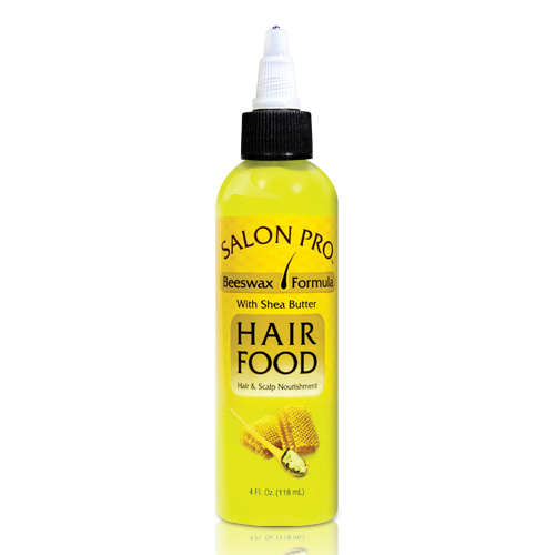 Salon Pro Hair Food Beeswax w/ Shea Butter (4 oz)
