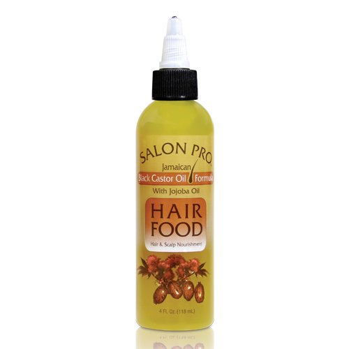Salon Pro Hair Food Jamaican Black Castor Oil w/ Jojoba Oil (4 oz)