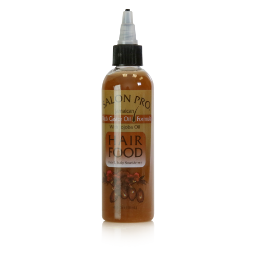 Salon Pro Hair Food Black Castor Oil (4 oz)