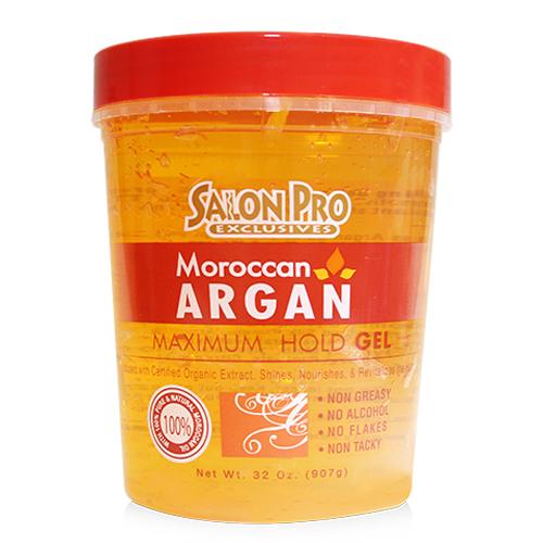 Salon Pro Moroccan Argan Stylig Gel (32oz)