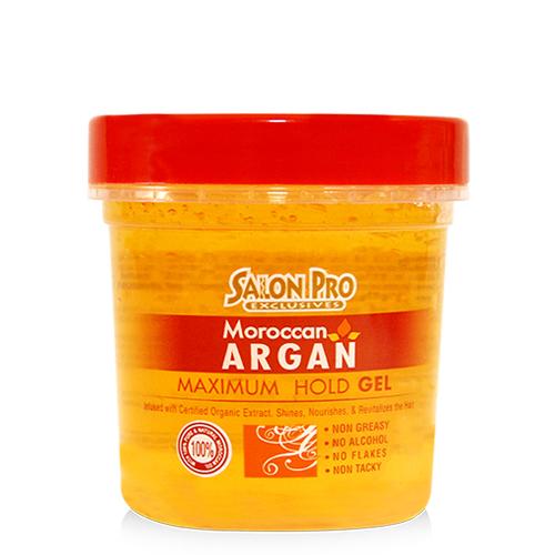 Salon Pro Moroccan Argan Stylig Gel (8oz)