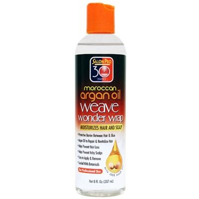 Salon Pro 30 sec Argan Weave Wonder Wrap (Clear / 8 oz)