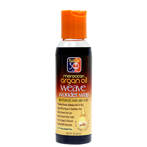 Salon Pro 30 sec Argan Weave Wonder Wrap (Black / 2 oz)
