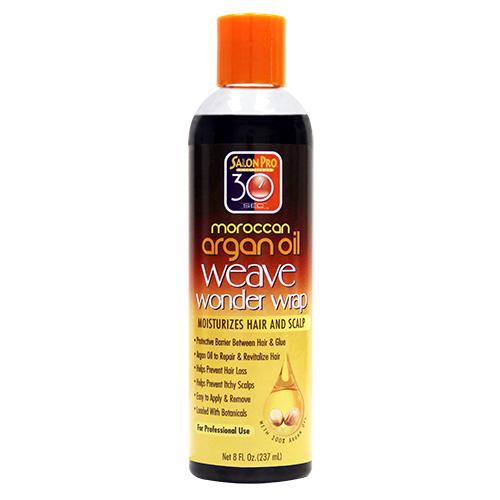 Salon Pro 30 sec Argan Weave Wonder Wrap (Black / 8 oz)