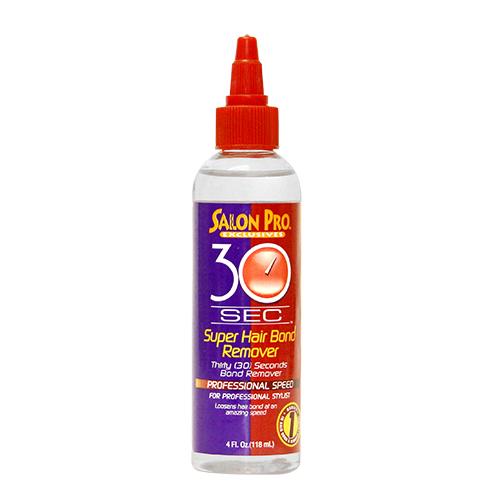 Salon Pro 30 Sec Super Hair Bond Remover Oil which contains Olive Oil (4 oz)