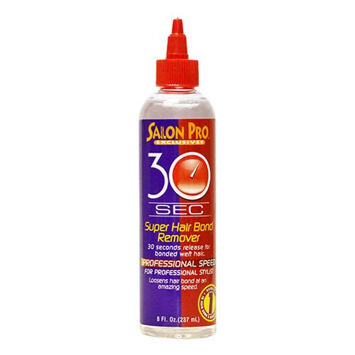 Salon Pro 30 Sec Super Hair Bond Remover Oil which contains Olive Oil (8 oz)