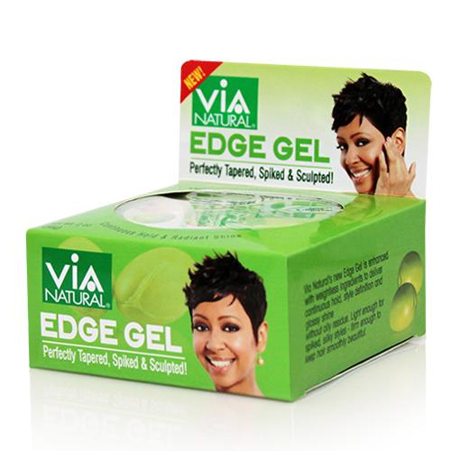 Via Natural EDGE GEL (Nourishing Argan & Olive Oil) (2 oz)