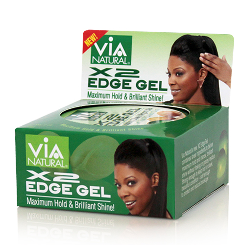 Via Natural X2 EDGE GEL (Maximum Hold) (2 oz)