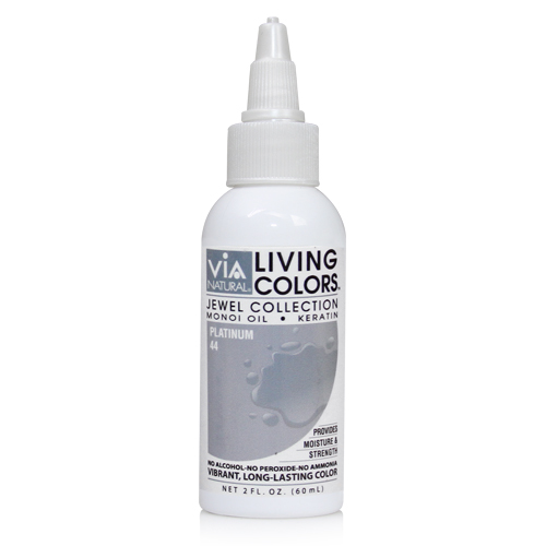 Via Natural Living Color 2oz (#44 Platinum)