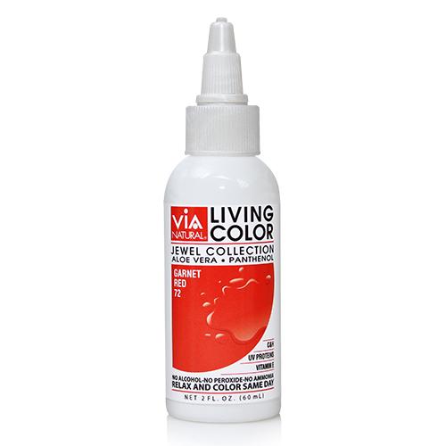 Via Natural Living Color 2oz (#72 Garnet Red)