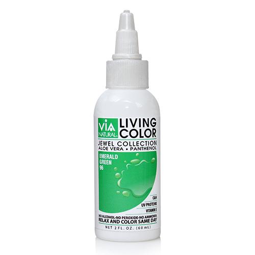 Via Natural Living Color 2oz (#96 Emerald Green)