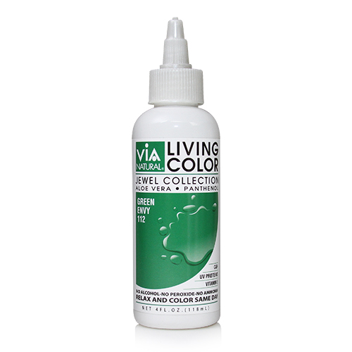 Via Natural Living Color 4oz (#112 Green Envy)