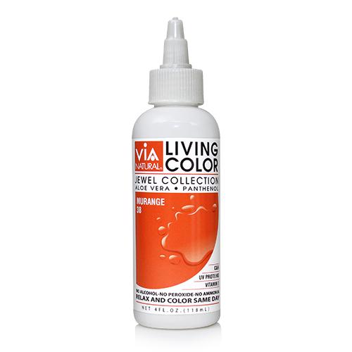 Via Natural Living Color 4oz (#38 Murange)
