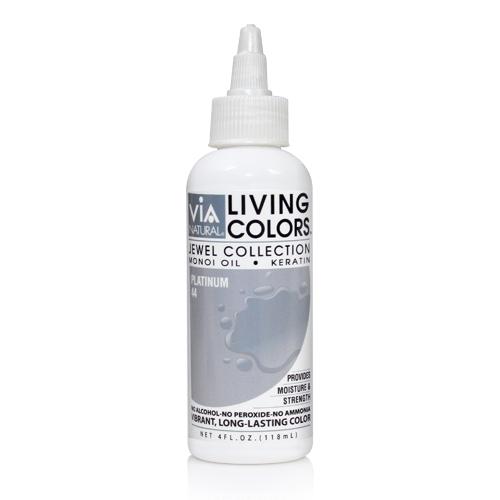 Via Natural Living Color 4oz (#44 Platinum)
