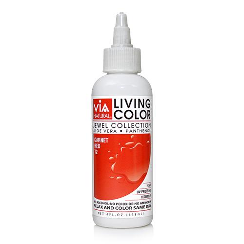 Via Natural Living Color 4oz (#72 Garnet Red)
