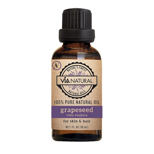 Via natural 100% Pure - Grapeseed Oil (1 FL OZ)
