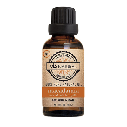 Via natural 100% Pure - Macadamia Oil (1 FL OZ)
