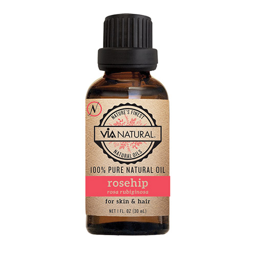 Via natural 100% Pure - Rosehip Oil (1 FL OZ)