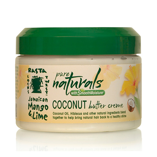 Pure Naturals with Smooth Moisture  Coconut Oil Butter Crème (12oz)