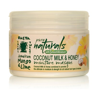 Pure Naturals with Smooth Moisture  Coconut Milk & Honey Moisture Masque (12oz)