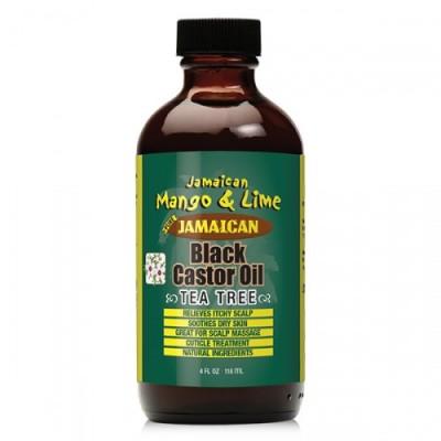 Jamaican Black Castor Oil - Tea Tree (4 oz)
