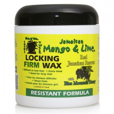 Jamaican Mango & Lime Locking Firm Wax (6 oz)
