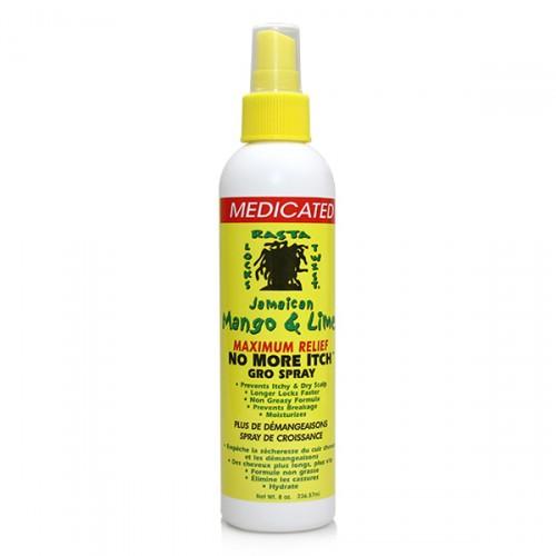 Jamaican Mango & Lime Medicated No More Itch Gro Spray (8 oz)