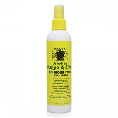 Jamaican Mango & Lime No More Itch Gro Spray (8 oz)