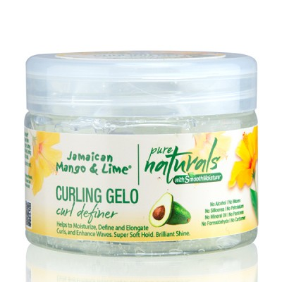Pure Naturals with Smooth Moisture Curling Gelo (12 oz)