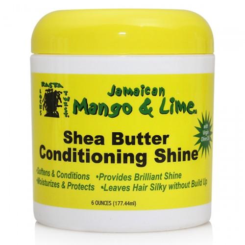 Jamaican Mango & Lime Shea Butter Conditioning Shine (6 oz)