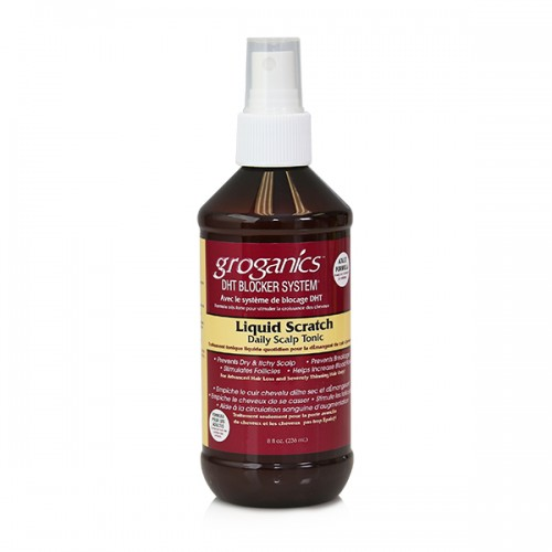 Groganics Liquid Scratch Daily Scalp Tonic (8 oz)