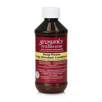 Groganics Deep Freeze Scalp Stimulant Conditioner (8 oz)