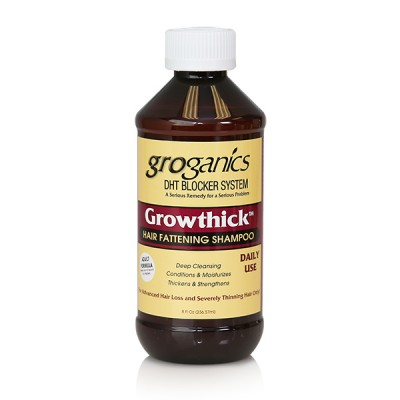 Groganics Growthick Hair Fattening Shampoo (8 oz)