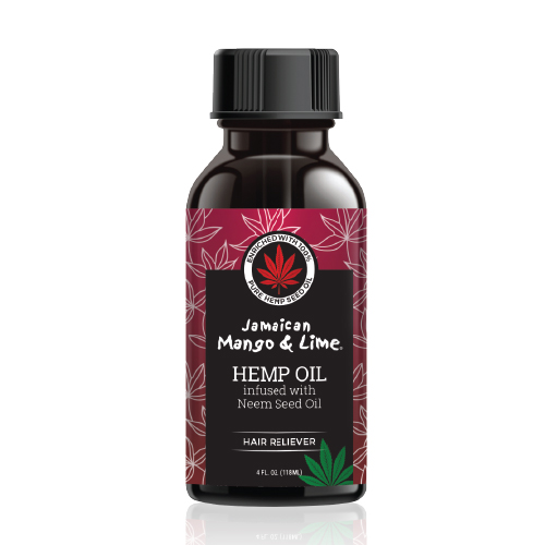 Hemp Oil infused with Neem Seed Oil