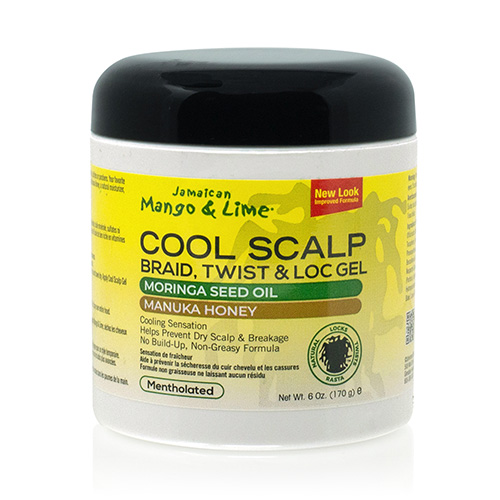 Jamaican Mango & Lime No More Itch Cool Scalp Braid, Twist & Lock Gel (6 oz)