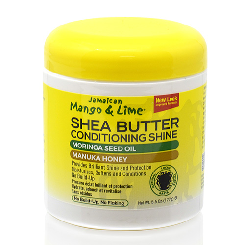 Jamaican Mango & Lime Shea Butter Conditioning Shine (6 oz)