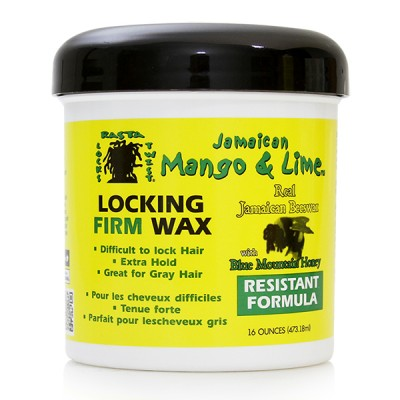 Jamaican Mango & Lime Locking Firm Wax (16 oz)