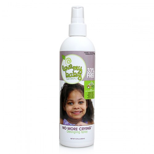 Love My Baby Naturals No More Crying Detangling Spray (12 oz)